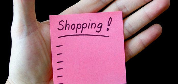Preparar lista de la compra