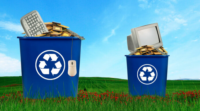 La medicina para la basura electrónica está en el reciclaje